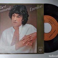 Discos de vinilo: ALBERT HAMMOND -- ENREDAO / MI ALBUM DE RECUERDOS, EPIC, 1978. Lote 194883932