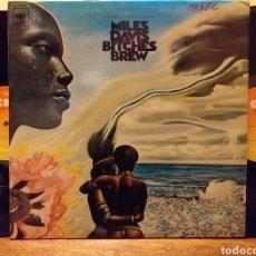 Discos de vinilo: MILES DAVIS BITCHES BREW DOBLE LP ESPAÑA 1970. Lote 194884195