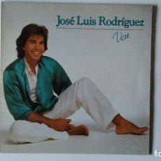 Discos de vinilo: JOSE LUIS RODRIGUEZ-VEN (1983) ED:ESPAÑA EPIC-EPC 25567. Lote 194884480
