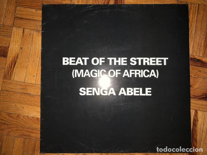 BEAT OF THE STREET (MAGIC OF AFRICA) – SENGA ABELE SELLO: BIRD PRODUCTION – 50007 FORMATO: VINYL (Música - Discos de Vinilo - Maxi Singles - Jazz, Jazz-Rock, Blues y R&B)