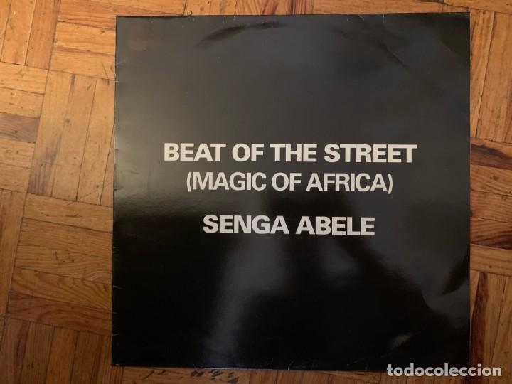 Discos de vinilo: Beat Of The Street (Magic Of Africa) – Senga Abele Sello: Bird Production – 50007 Formato: Vinyl - Foto 2 - 194884925
