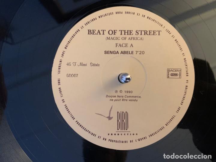 Discos de vinilo: Beat Of The Street (Magic Of Africa) – Senga Abele Sello: Bird Production – 50007 Formato: Vinyl - Foto 4 - 194884925