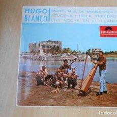 Discos de vinilo: HUGO BLANCO, EP, MORE (MÁS DE MONDO CANE) + 3, AÑO 1966. Lote 194885911