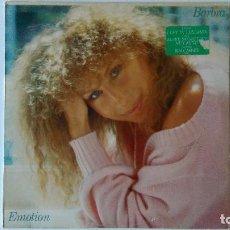 Discos de vinilo: BARBRA STREISAND-EMOTION (1984) ED:EUROPA CBS-86309. Lote 194886092