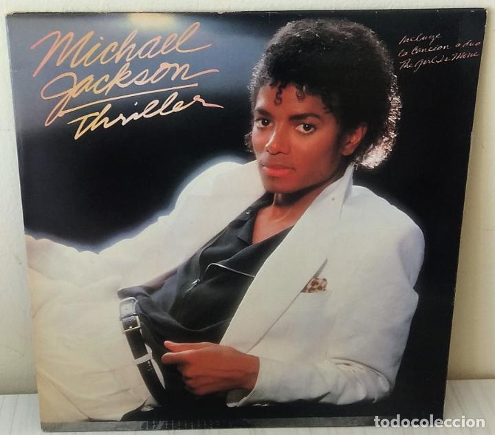 MICHAEL JACKSON - THRILLER EPIC - 1982 GAT (Música - Discos - LP Vinilo - Funk, Soul y Black Music)