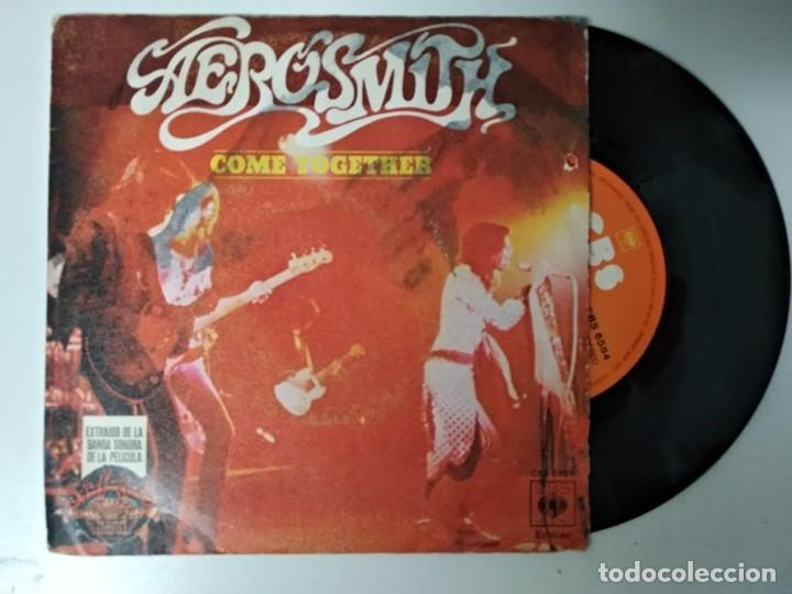 AEROSMITH - COME TOGETHER / REYES Y REINAS - SPAIN - CBS 1978 (Música - Discos - Singles Vinilo - Rock & Roll)