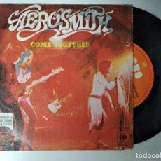 Discos de vinilo: AEROSMITH - COME TOGETHER / REYES Y REINAS - SPAIN - CBS 1978. Lote 194886728