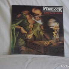Discos de vinilo: WARLOCK LP BURNING THE WITCHES. Lote 194886922