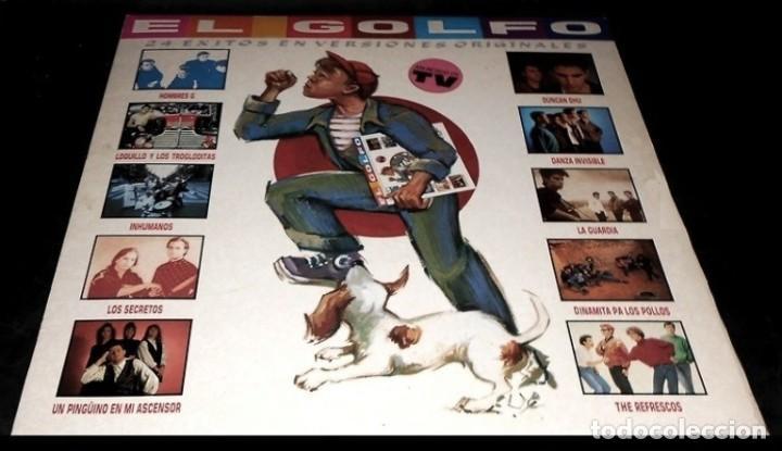 V472 - EL GOLFO. HOMBRES G. LOQUILLO. LOS SECRETOS. DUNCAN DHU. NACHA POP. . DOBLE LP VINILO (Música - Discos - LP Vinilo - Grupos Españoles de los 70 y 80)