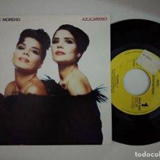 Discos de vinilo: AZUCAR MORENO - AZUCARERO 7'' SINGLE 1992 EPIC PROMO UNA CARA. Lote 194887806