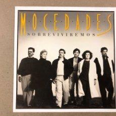 """Discos de vinilo: - L.P. VINILO - MOCEDADES """"SOBREVIVIREMOS"""".. Lote 194887886"""