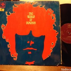 Discos de vinilo: THE WORLD OF DONOVAN ESPAÑA 1970. Lote 194887983