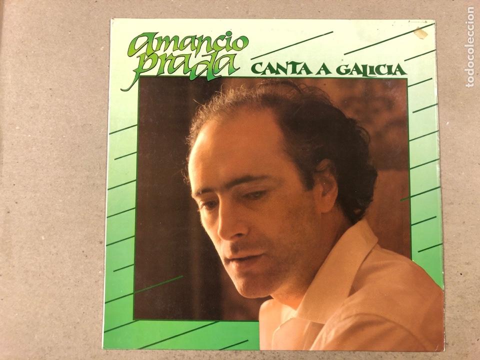 - L.P. VINILO - AMANCIO PRADA CANTA A GALICIA. (Música - Discos - LP Vinilo - Grupos Españoles de los 70 y 80)