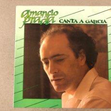 Discos de vinilo: - L.P. VINILO - AMANCIO PRADA CANTA A GALICIA.. Lote 194888245