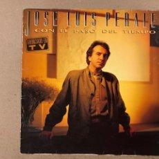 """Discos de vinilo: - L.P. VINILO - JOSÉ LUIS PEREALES """"CON EL PASO DEL TIEMPO"""".. Lote 194888578"""