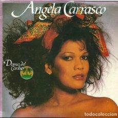 Discos de vinilo: ANGELA CARRASCO-DAMA DEL CARIBE - LP ARIOLA SPAIN 1985. Lote 194888632
