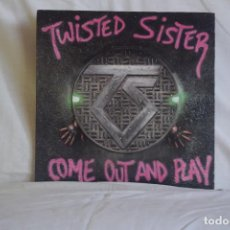 Discos de vinilo: TWISTED SISTER - COME OUT AND PLAY. Lote 194888663