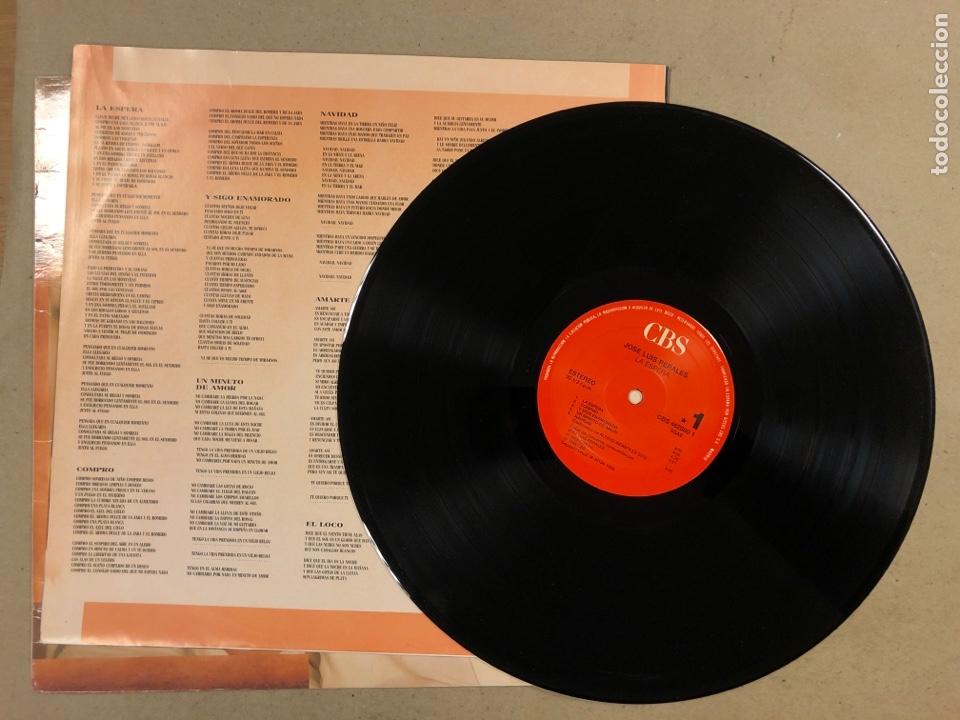 "Discos de vinilo: - L.P. VINILO - JOSÉ LUIS PEREALES ""LA ESPERA"". - Foto 2 - 194888767"