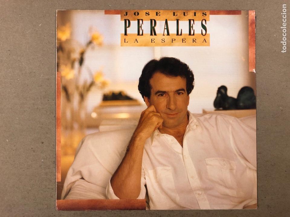 """- L.P. VINILO - JOSÉ LUIS PEREALES """"LA ESPERA"""". (Música - Discos - LP Vinilo - Grupos Españoles de los 70 y 80)"""