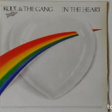 Discos de vinilo: KOOL & THE GANG-IN THE HEART (1983) ED:ESPAÑA DE LITE RECORDS-SPL 1 50053. Lote 194888796