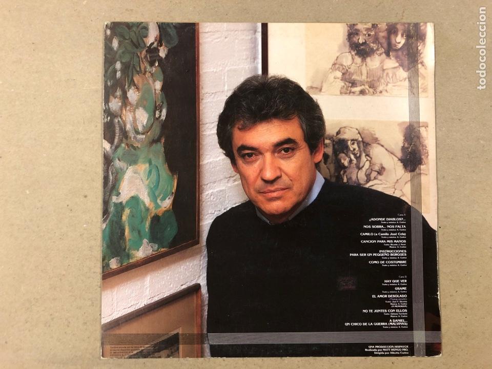 "Discos de vinilo: - L.P. VINILO - ALBERTO CORTEZ ""ENTRE LÍNEAS"". - Foto 3 - 194889040"