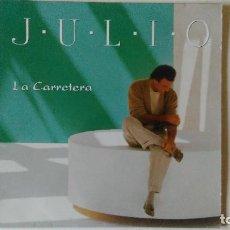 Discos de vinilo: JULIO IGLESIAS-LA CARRTERA (1995) ED:HOLANDA COLUMBIA-480704 1. Lote 194889386