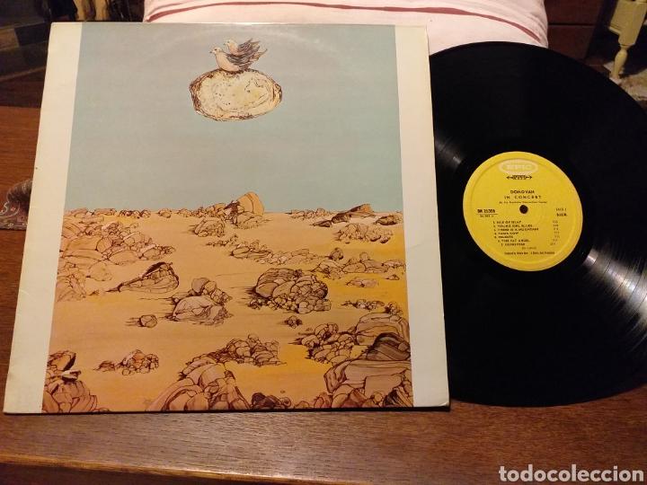 DONOVAN IN CONCERT PRIMERA EDICION FRANCESA DE 1968 (Música - Discos - LP Vinilo - Pop - Rock Extranjero de los 50 y 60)