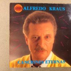 """Discos de vinilo: - L.P. VINILO - ALFREDO KRAUS """"CANCIONES ETERNAS"""".. Lote 194890203"""