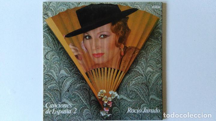 Discos de vinilo: ROCIO JURADO-Y SIN EMBARGO TE QUIERO (1983) ED:ESPAÑA RCA-PL 35417 - Foto 2 - 194890255