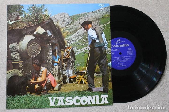 VASCONIA LP VINYL MADE IN SPAIN 1970 (Música - Discos - LP Vinilo - Étnicas y Músicas del Mundo)