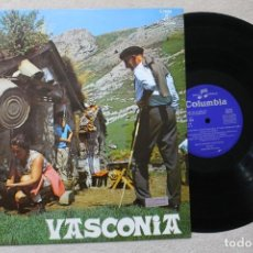 Discos de vinilo: VASCONIA LP VINYL MADE IN SPAIN 1970. Lote 194890568