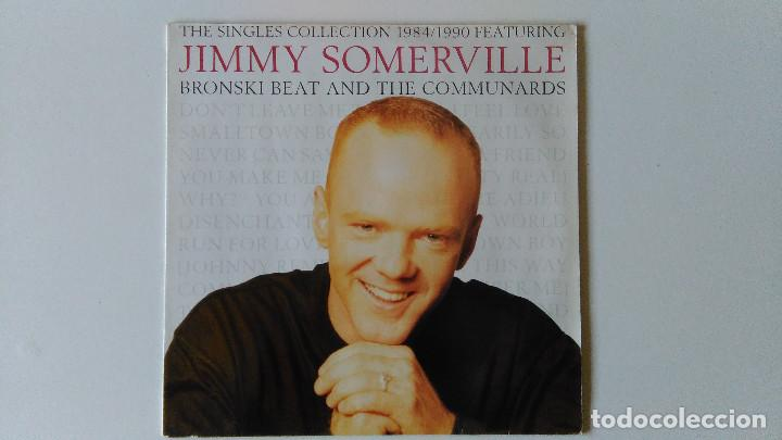 JIMMY SOMERVILLE-THE SINGLES COLLECTION 1984/1990 (1990) ED:ESPAÑA LONDON RECORDS-828 226 1 (Música - Discos de Vinilo - EPs - Pop - Rock - New Wave Extranjero de los 80)