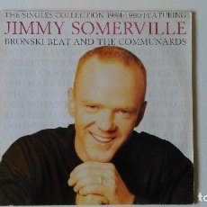 Discos de vinilo: JIMMY SOMERVILLE-THE SINGLES COLLECTION 1984/1990 (1990) ED:ESPAÑA LONDON RECORDS-828 226 1. Lote 194890735