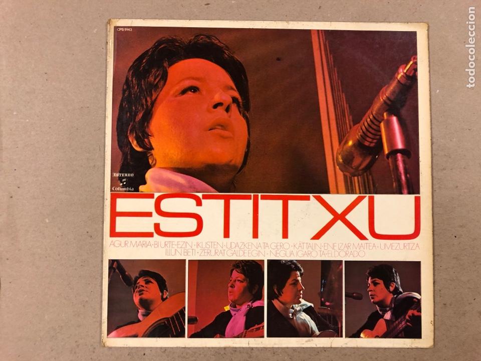 """- L.P. VINILOS - ESTITXU """"ESTITXU"""". (Música - Discos - LP Vinilo - Solistas Españoles de los 70 a la actualidad)"""