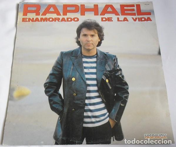 RAPHAEL– ENAMORADO DE LA VIDA - LP SPAIN 1983 (Música - Discos - LP Vinilo - Solistas Españoles de los 70 a la actualidad)