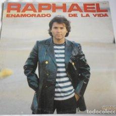 Discos de vinilo: RAPHAEL– ENAMORADO DE LA VIDA - LP SPAIN 1983. Lote 194890993