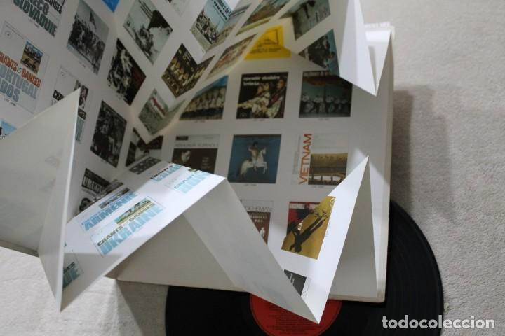 Discos de vinilo: CHANTS DU MONDE LP VINYL GATELFOLD EXTENSIBLE MADE IN FRANCE - Foto 3 - 194891300