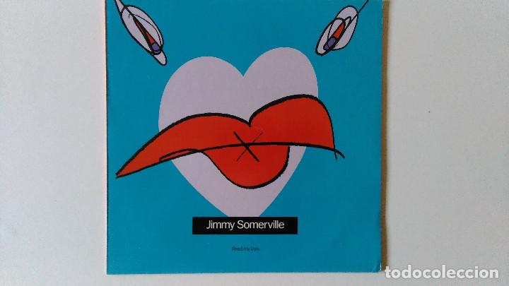 JIMMY SOMERVILLE-READ MY LIPS (1989) ED:ESPAÑA LONDON RECORDS-828 166 1 (Música - Discos de Vinilo - EPs - Pop - Rock - New Wave Extranjero de los 80)