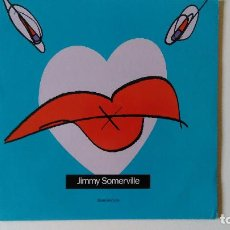 Discos de vinilo: JIMMY SOMERVILLE-READ MY LIPS (1989) ED:ESPAÑA LONDON RECORDS-828 166 1. Lote 194891473