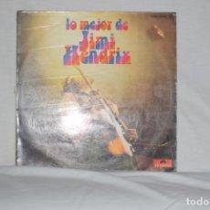 Discos de vinilo: JIMI HENDRIX - LO MEJOR DE JIMI HENDRIX. Lote 194891493