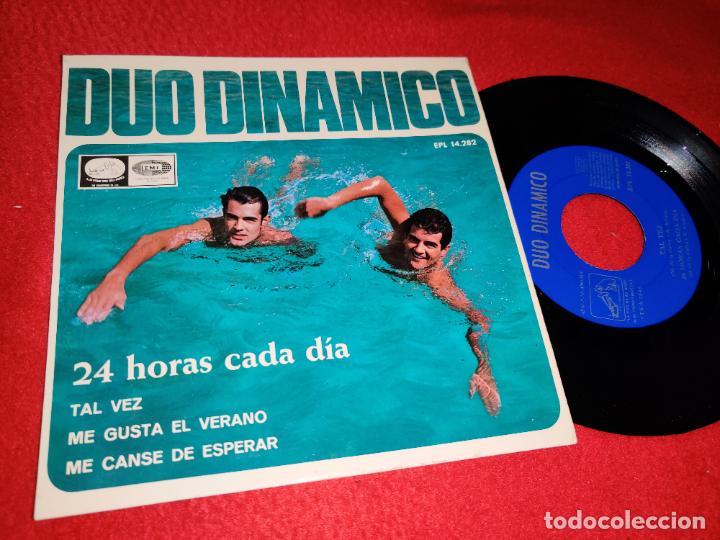 DUO DINAMICO 24 HORAS CADA DIA/TAL VEZ/ME GUSTA EL VERANO +1 EP 1966 LA VOZ DE SU AMO/EMI (Música - Discos de Vinilo - EPs - Grupos Españoles 50 y 60)