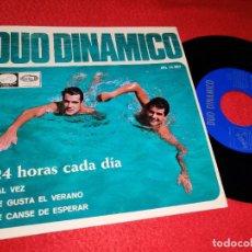 Discos de vinilo: DUO DINAMICO 24 HORAS CADA DIA/TAL VEZ/ME GUSTA EL VERANO +1 EP 1966 LA VOZ DE SU AMO/EMI. Lote 194892743