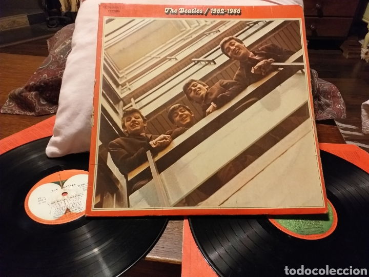 THE BEATLES / 1962-1966 EDICION FRANCESA 1973 (Música - Discos - LP Vinilo - Pop - Rock Extranjero de los 50 y 60)