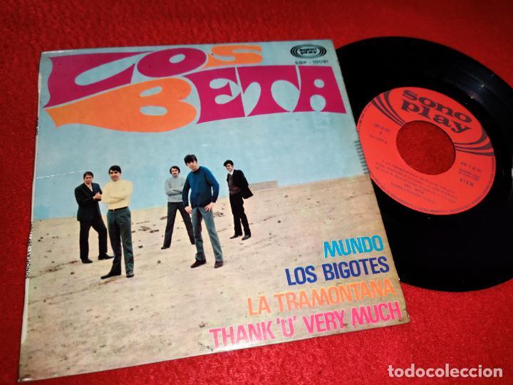 LOS BETA MUNDO/LOS BIGOTES/LA TRAMONTANA/THANK U VERY MUCH EP 1968 SONOPLAY (Música - Discos de Vinilo - EPs - Grupos Españoles 50 y 60)