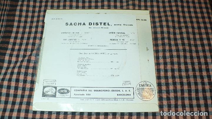 Discos de vinilo: Sacha Distel – Incendio En Rio, Los Loritos, Señor Canibal, Rebeca Y Yo, La Voz De Su Amo,14.339. - Foto 2 - 194894187