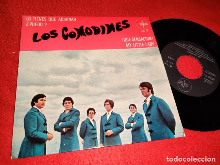 LOS COMODINES LO TIENES QUE ADIVINAR/¿PUEDO?/¡QUE SENSACION!/MY LITTLE LADY EP 1969 SAYTON RARO (Música - Discos de Vinilo - EPs - Grupos Españoles 50 y 60)