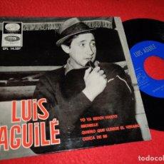 Discos de vinil: LUIS AGUILE YO YA ESTOY HARTO/MICHELLE/QUIERO QUE LLEGUE EL VERANO/CERCA DE MI EP 1966 BEATLES. Lote 194895225