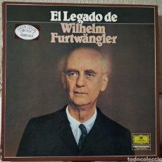 Discos de vinilo: DISCOS DE VINILO EL LEGADO DE WILHELM FURTWANGLER. Lote 194897098