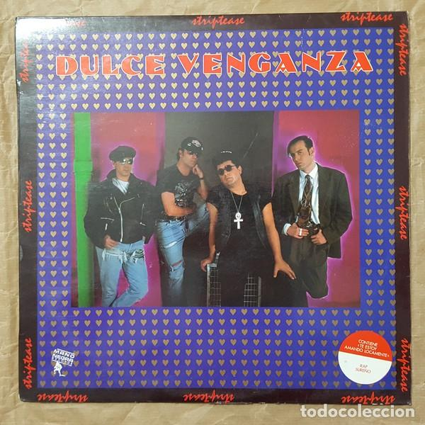 DULCE VENGANZA 'STRIPTEASE' LP 1990 MANONEGRA (Música - Discos - LP Vinilo - Grupos Españoles de los 90 a la actualidad)