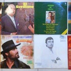 Discos de vinilo: LOTE 60 LPS DISCOS DE VINILO DE FLAMENCO. Lote 194897832